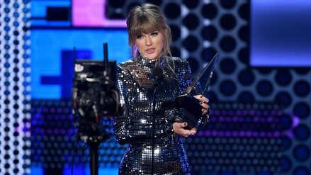 American Music Awards 2018: Taylor Swift es elegida como la Mejor Artista del Año