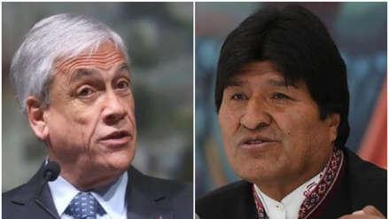 Evo Morales invita formalmente a Sebastián Piñera a