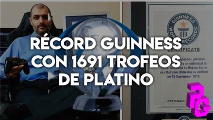 Guinness   Videojugador consigue récord Guinness al lograr 1691 trofeos de Platino en PlayStation