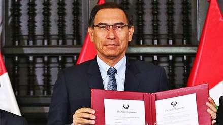 Las claves del referéndum convocado por Martín Vizcarra