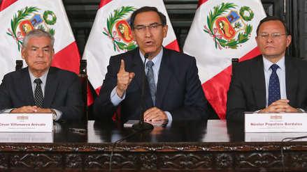Martín Vizcarra convoca a referéndum pero se opone a la Bicameralidad