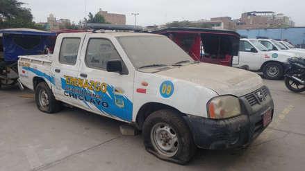 Chiclayo: Camionetas de serenazgo están inoperativas desde hace meses