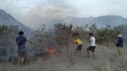 Lambayeque: en setiembre se registró el mayor número de incendios forestales