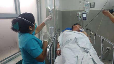 Falleció mototaxista que fue pepeado en Chiclayo