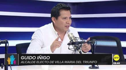 Guido Iñigo presenta recurso para poder asumir la Alcaldía de Villa María del Triunfo