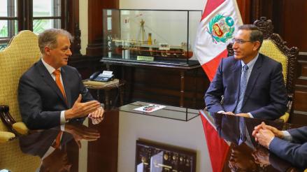 """Jorge Muñoz se reúne con Martín Vizcarra: """"Sin presupuesto no se puede hacer nada"""""""