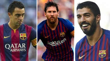 Barcelona: los 10 jugadores que más asistencias le han dado a Lionel Messi