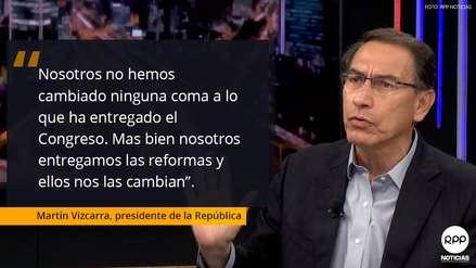 Las frases que dejó Martín Vizcarra en su entrevista exclusiva para RPP