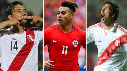 Perú vs. Chile: descubre a los máximos goleadores del 'Clásico del Pacífico'