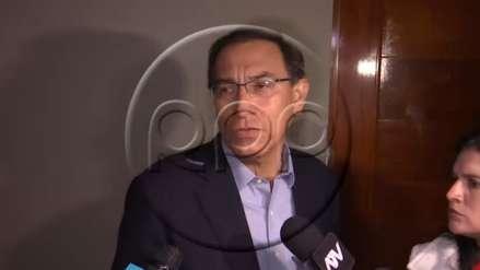 Vizcarra sobre liberación de Camayo: