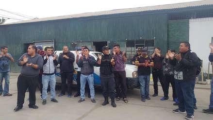 Video   Policía Municipal y Serenazgo de Chiclayo protestan por falta de pagos