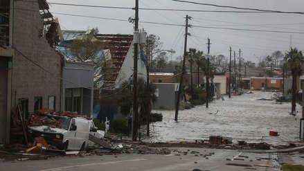 EE.UU. : Huracán Michael deja un muerto y escenas de devastación en Florida