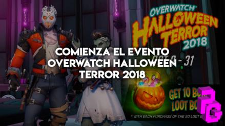 Comienza el evento Overwatch Halloween Terror 2018