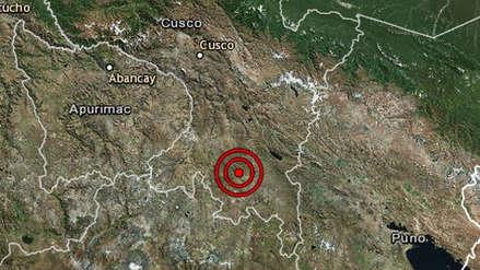 Dos sismos remecieron la región Cusco esta madrugada