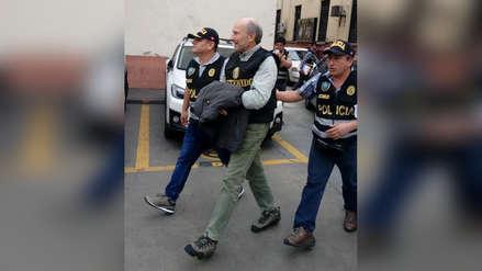 Augusto Bedoya fue detenido y llevado a la sede de la Prefectura