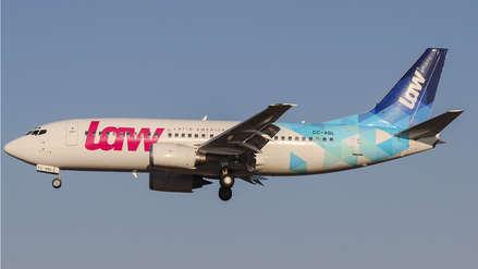 Aerolínea chilena LAW deberá devolver costo de pasajes a 5,000 usuarios