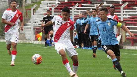 Perú vs. Uruguay en vivo en directo amistoso internacional Sub 20 desde montevideo FOTOS