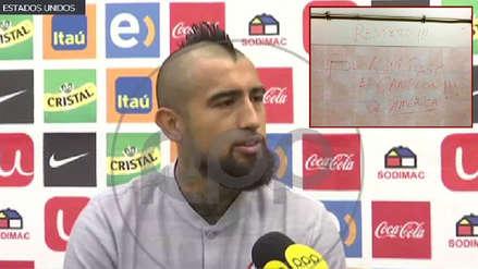 Arturo Vidal a RPP: