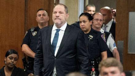 Harvey Weinstein se libra de uno de los seis cargos de delitos sexuales en su contra