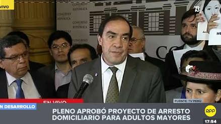 Diversas bancadas piden al presidente Vizcarra observar ley que beneficia a Fujimori