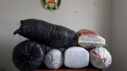 Hombre trasladaba 120 kilos de hoja de coca de manera ilegal
