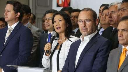 Corte Suprema declaró infundada casación de Keiko Fujimori y Fuerza Popular