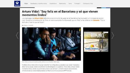 Arturo Vidal: así informó la prensa internacional sobre las declaraciones del chileno a RPP