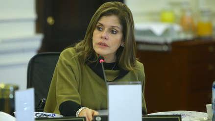 Publicidad estatal | Mercedes Aráoz dijo que el Estado no tuvo ahorro alguno mientras la ley estuvo vigente