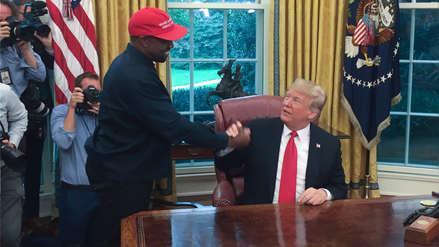 Kanye West visitó a Donald Trump en la Casa Blanca y lo llamó