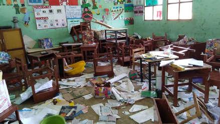Colegios sufren graves daños tras elecciones del 7 de octubre