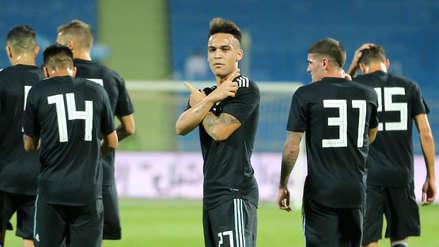 Argentina sin Messi venció 4-0 a Irak en amistoso internacional