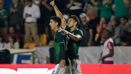 México remontó y venció 3-2 a Costa Rica en amistoso internacional