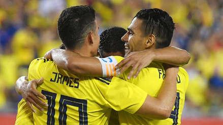 De la mano de James Rodríguez, Colombia derrotó 4-2 a Estados Unidos