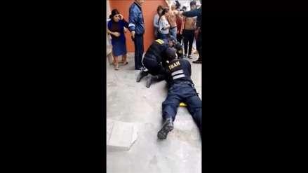 Niña queda herida al caer de edificio en Trujillo