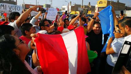 Ex candidatos lavan banderas en rechazo a resultados de las elecciones