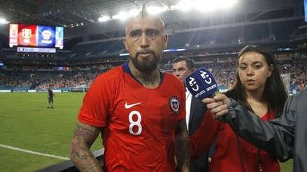 """Arturo Vidal: """"Antes de ser campeones de América perdimos con Jamaica"""