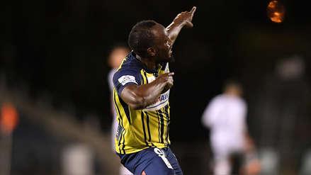 Usain Bolt: sus primeras declaraciones tras anotar sus dos primeros goles como futbolitsta