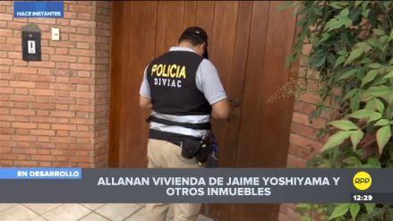 Keiko Fujimori | Fiscalía allana vivienda de Jaime Yoshiyama y otros implicados en caso de lavado de activos