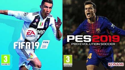 FIFA 19 vs. PES 2019: ¿Cuál es el mejor videojuego de fútbol del año?