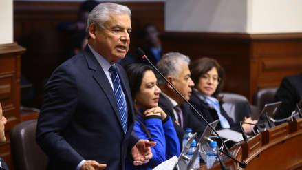 """César Villanueva: """"Truene o llueva, el referéndum va"""""""