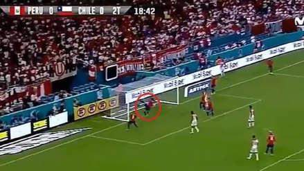 Perú vs. Chile: el disparo de André Carrillo que provocó autogol de 'La Roja'