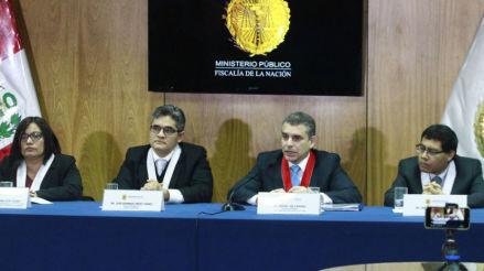 Ministerio Público niega intromisión por cese de integrante del equipo fiscal de José Domingo Pérez
