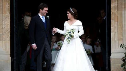 Princess Eugenia Wore A Wedding Dress