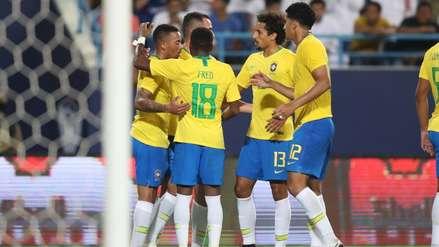 Brasil derrotó 2-0 a Arabia Saudita en Amistoso internacional