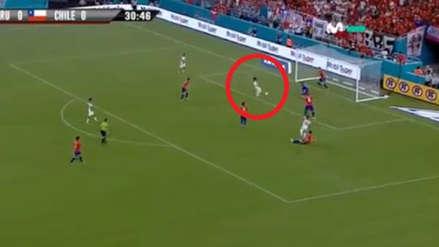 Mira el increíble gol que se falló Raúl Ruidíaz ante Chile