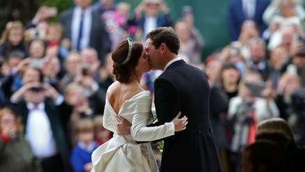 Boda Real: Eugenia, la nieta de la reina Isabel II, se casó en el castillo de Windsor [FOTOS]