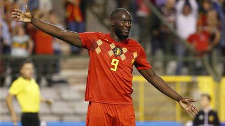 Lukaku anotó dos goles con Bélgica, pero se mandó tremendo blooper