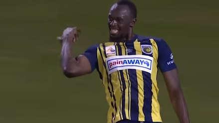 Usain Bolt marcó un doblete en su primer partido como titular en Australia