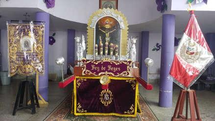Señor de los Milagros:  Todo listo para primer recorrido procesional en Chiclayo