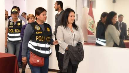 Keiko Fujimori pidió la unidad de su familia:
